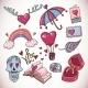 Love Doodles  - GraphicRiver Item for Sale
