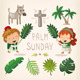 Palm Sunday Design Elements - GraphicRiver Item for Sale