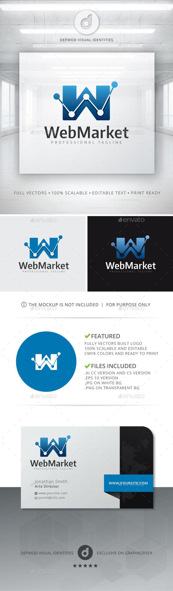 GraphicRiver Web Market Logo 10821475