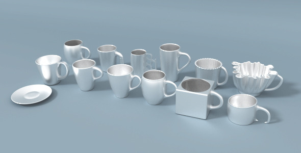 3DOcean Coffee Cup Repository 10821625