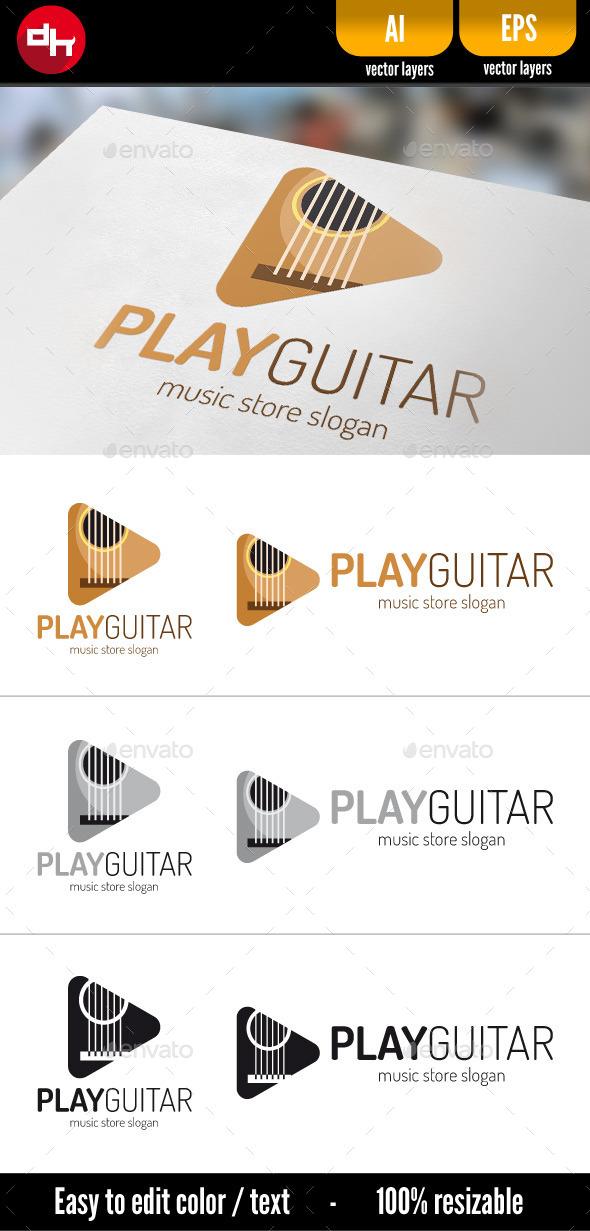 GraphicRiver Play Guitar 10821691