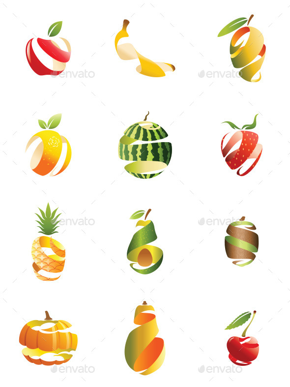 GraphicRiver Sliced Fruits 10821732