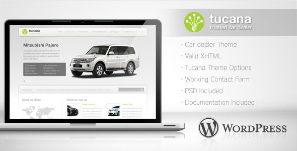 Tucana - Car Dealer Wordpress Theme