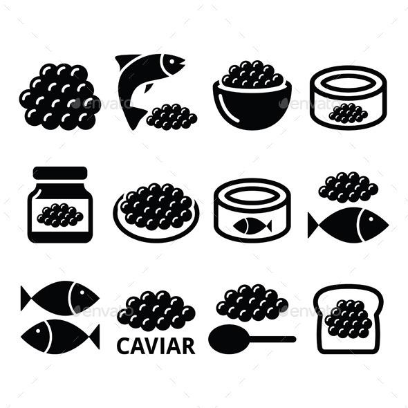 GraphicRiver Caviar and Fish Eggs 10821820