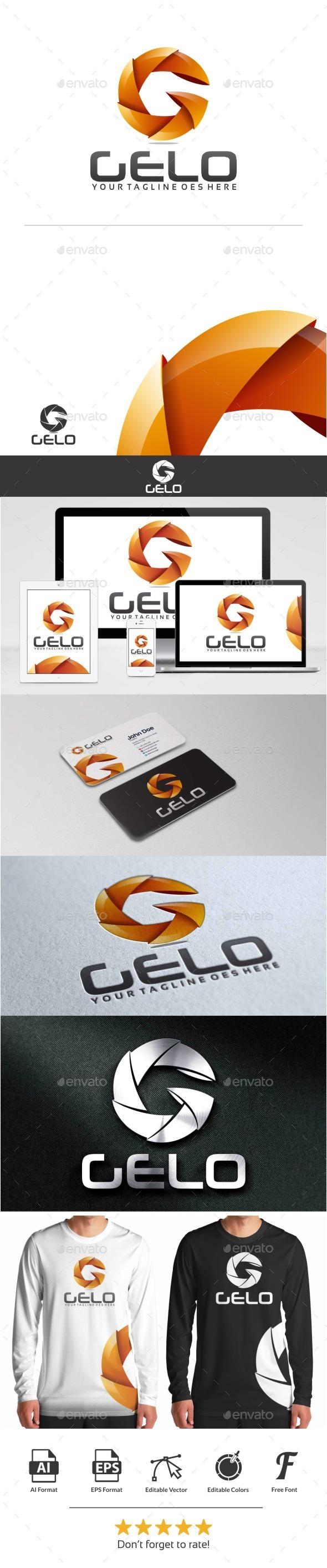 GraphicRiver Gelo Logo 10809654