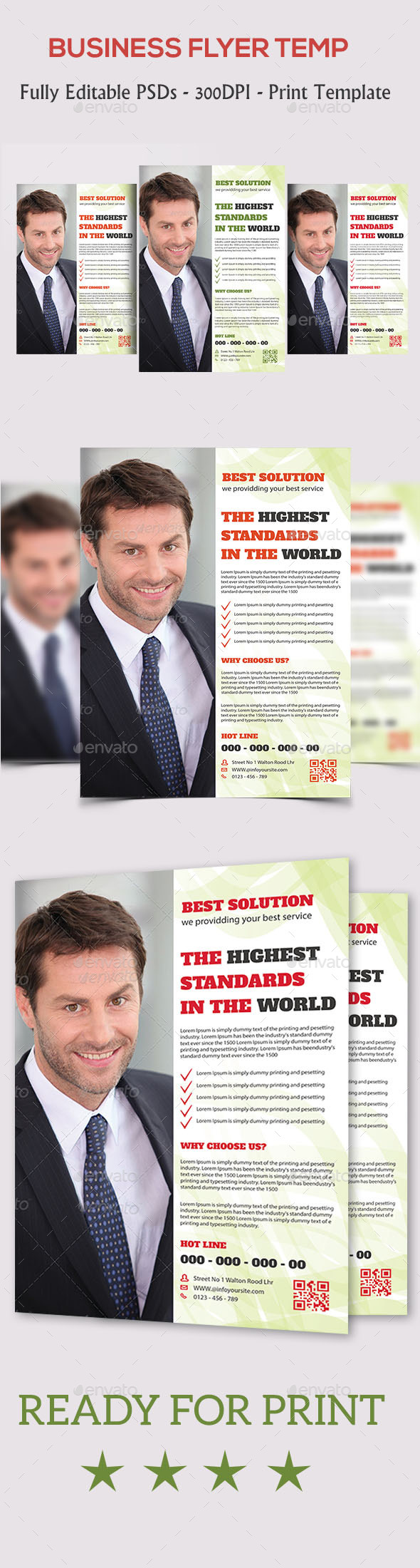 GraphicRiver Corporate Business Flyer 10821833