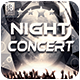 Night Concert Flyer/Poster Template - GraphicRiver Item for Sale
