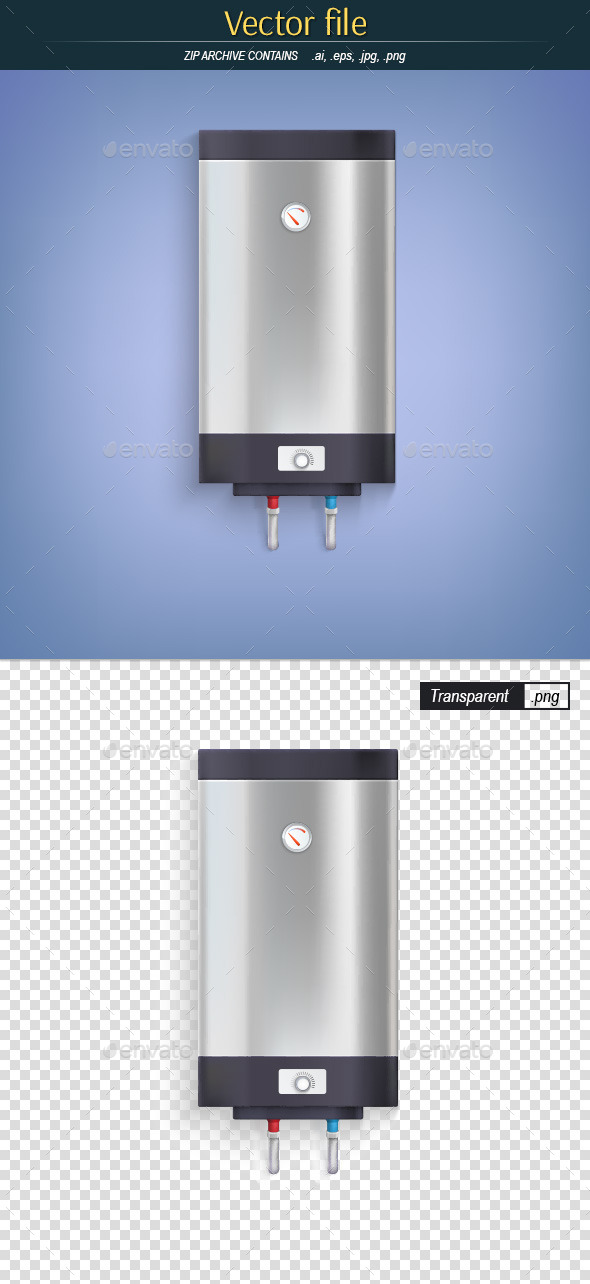 GraphicRiver Electric Water Heater 10822409