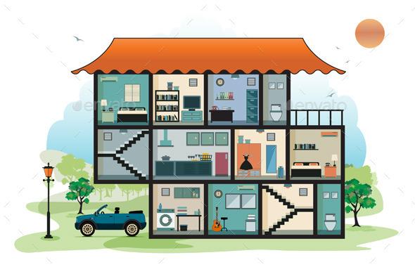 GraphicRiver Home Interior 10822431