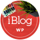 iBlog - Creative Responsive WordPress Blog Theme - ThemeForest Item for Sale