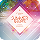 Summer Shapes Flyer - GraphicRiver Item for Sale