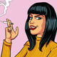 Smoking Woman - GraphicRiver Item for Sale