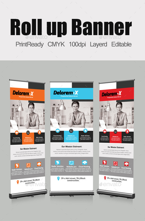 GraphicRiver Roll Up Business Banners Template 10822674