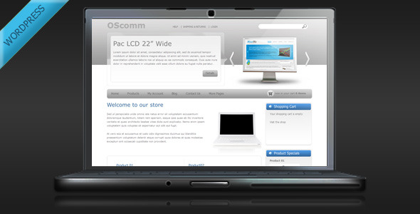 OSComm - Online Store WordPress Theme - WP e-Commerce eCommerce