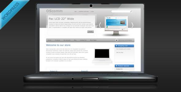 ThemeForest OSComm Online Store WordPress Theme 134773