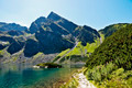 The view from the trail on Black Pond and High Tatras - PhotoDune Item for Sale
