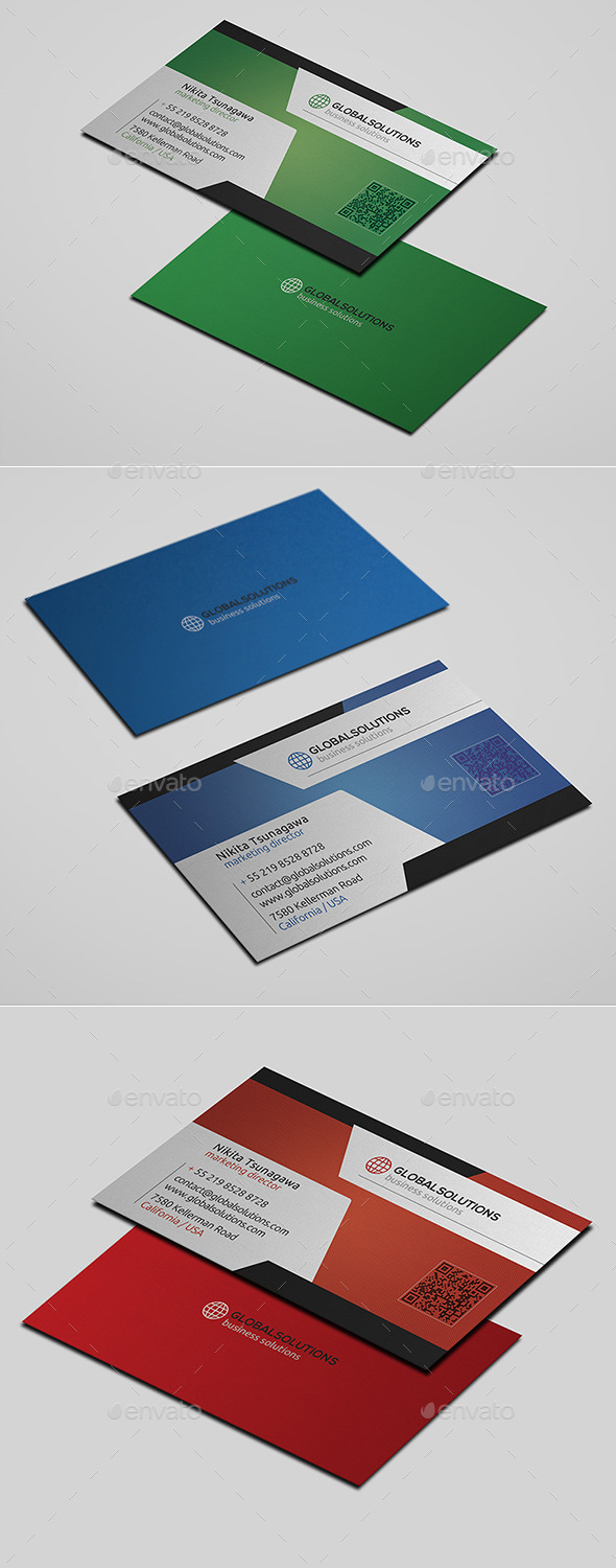 GraphicRiver Corporate Business Card 16 10822737