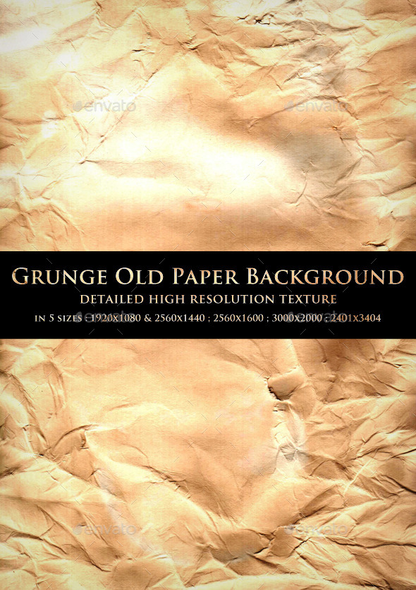 GraphicRiver Grunge Old Paper Background 10822796