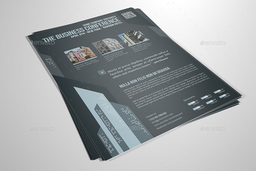 Corporate Flyer Template 11