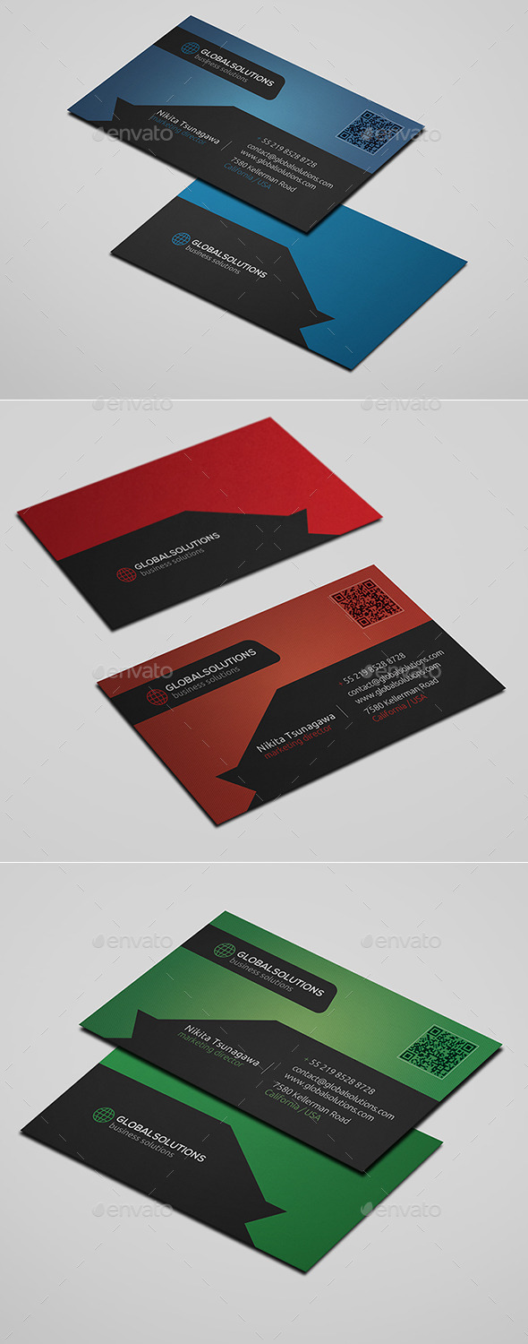 GraphicRiver Corporate Business Card 17 10822980