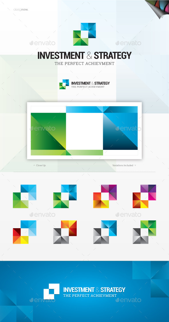 Strategy And Investment Logo - Vector Abstract