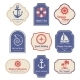 Nautical Emblems Set