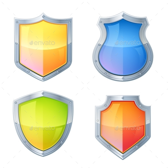 GraphicRiver Shield Icons Set 10823566
