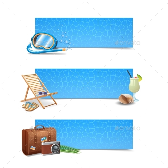 GraphicRiver Travel Banner Set 10823731