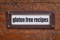 gluten free recipes - PhotoDune Item for Sale