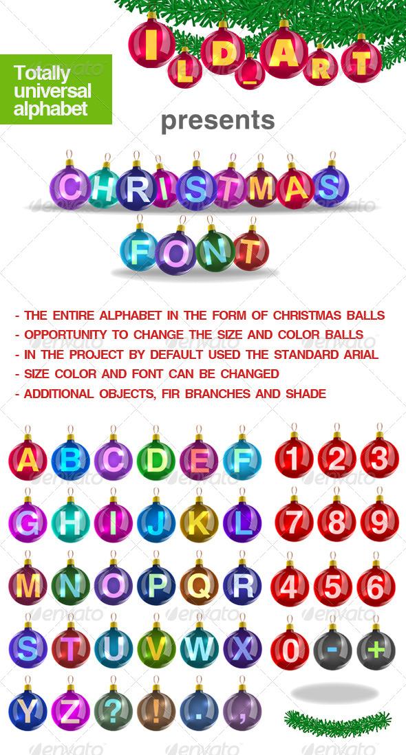 GraphicRiver Christmas balls 130602