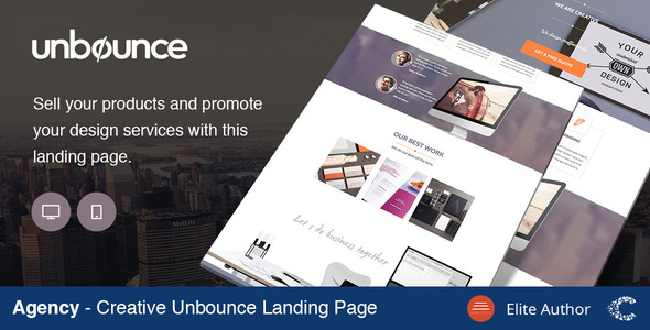 ThemeForest Agency Creative Landing Page 10824137