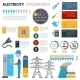 Electricity Infographics Set - GraphicRiver Item for Sale