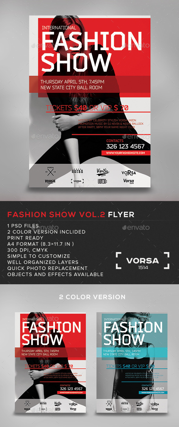 GraphicRiver Fashion Show vol.2 10824141