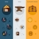 Blacksmith Banner Set - GraphicRiver Item for Sale