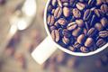 coffee beans in mug - PhotoDune Item for Sale