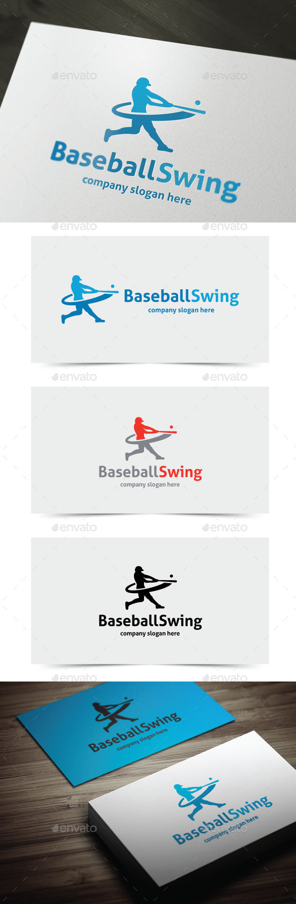 GraphicRiver Baseball Swing 10825854