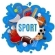 Sport Equipment Concept - GraphicRiver Item for Sale