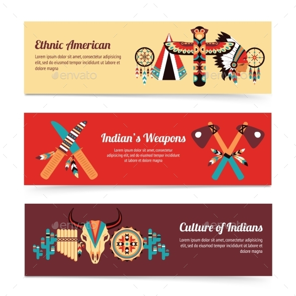 GraphicRiver Ethnic Banners 10826066