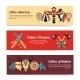 Ethnic Banners  - GraphicRiver Item for Sale