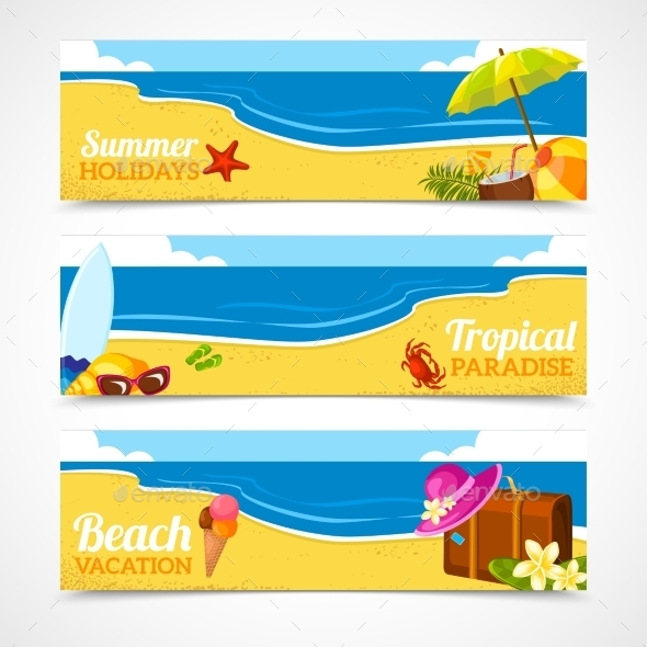 GraphicRiver Summer Banner 10826080