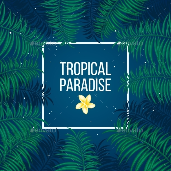 GraphicRiver Tropical Background 10826144