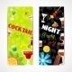 Cocktails Banner Set - GraphicRiver Item for Sale