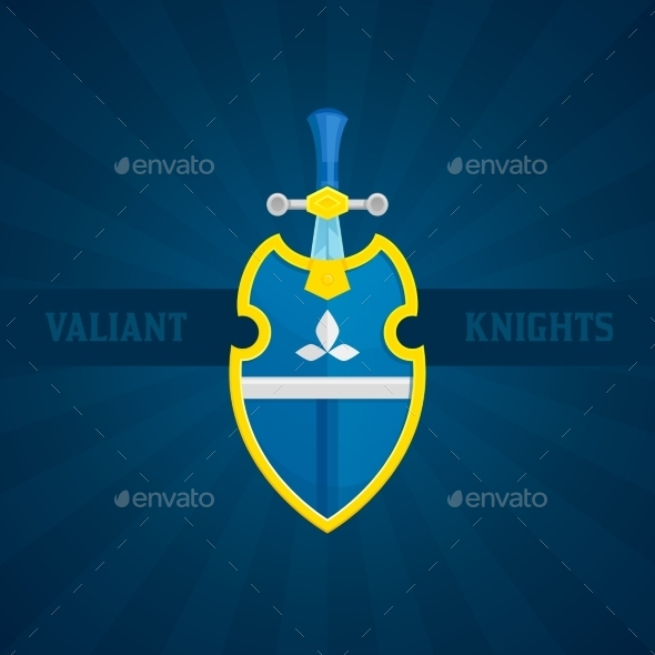 GraphicRiver Sword and Shield Icon 10826165