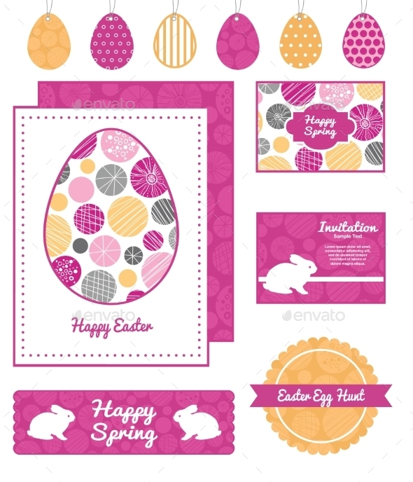GraphicRiver Easter Background 10826341
