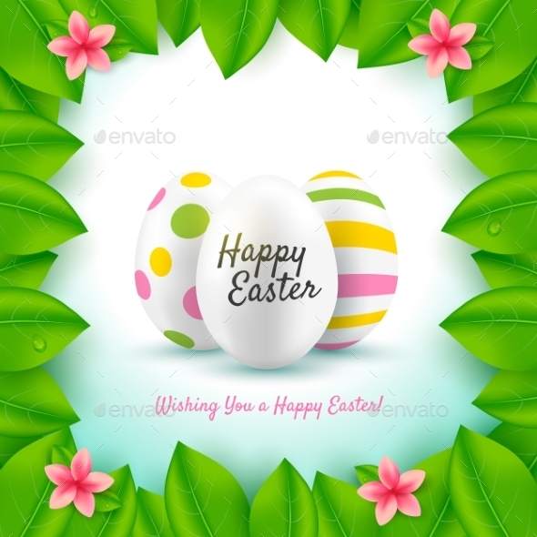 GraphicRiver Happy Easter 10827236