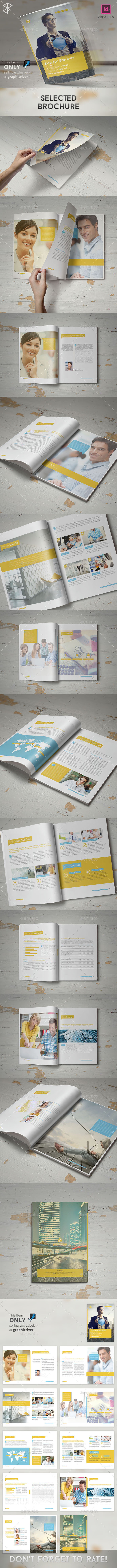 GraphicRiver Selected Brochure 10827620
