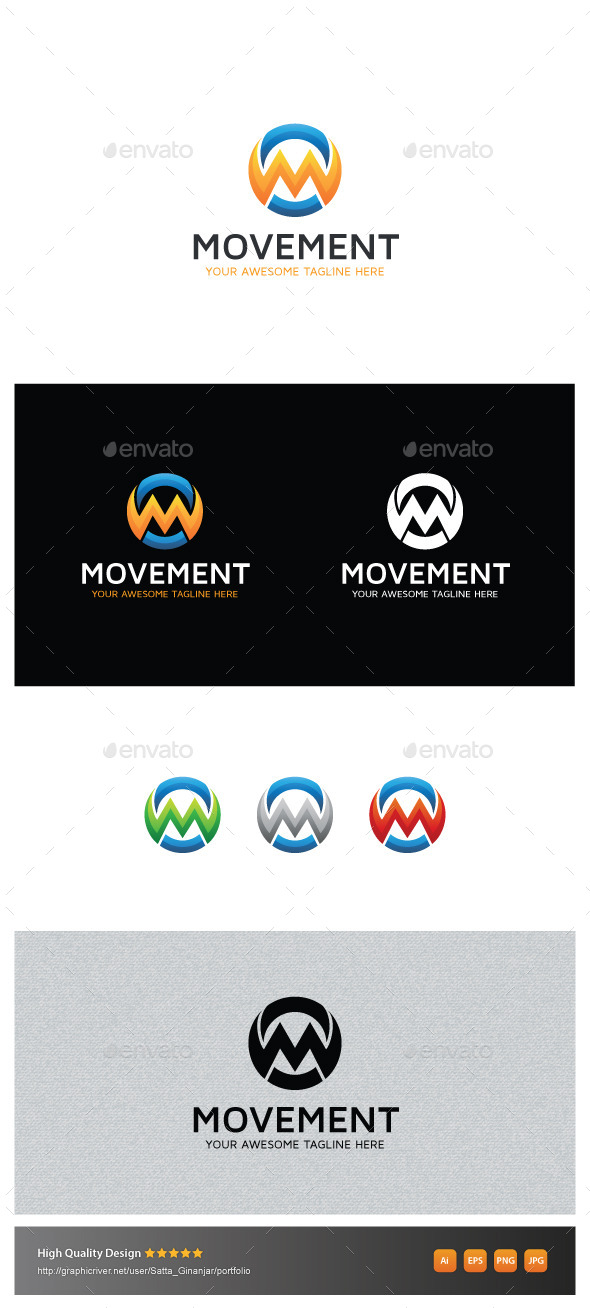 GraphicRiver Movement 10827853