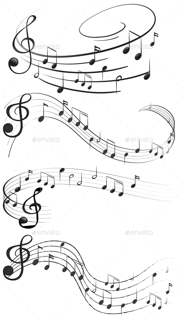 GraphicRiver Music Notes 10827967