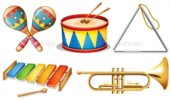 GraphicRiver Musical Instruments 10828041