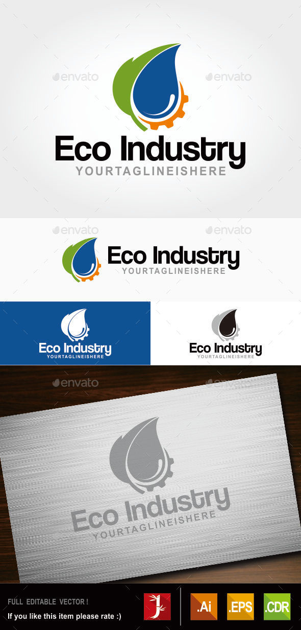 GraphicRiver Eco Industry 10828107
